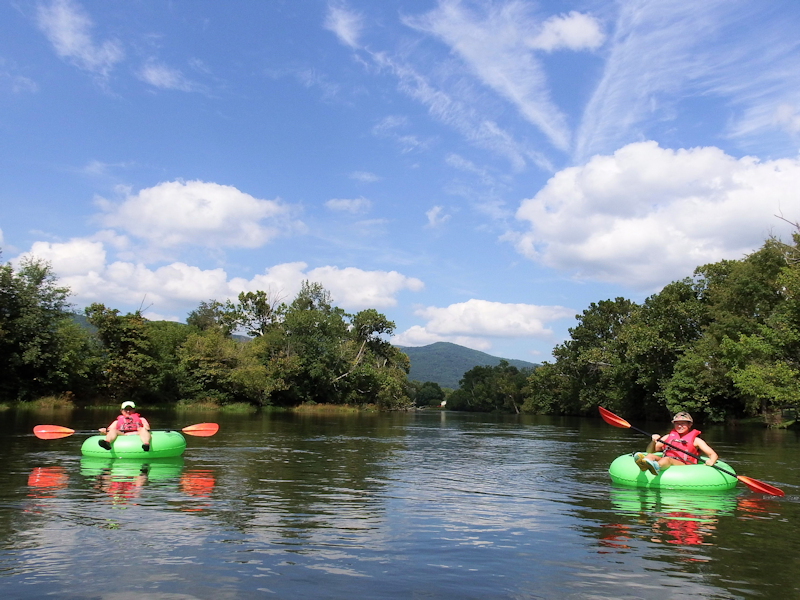 Guided River Tubing