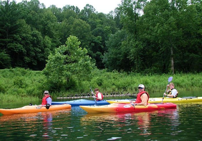 Lake Kayaking | Nature Rafting Tours | Rafting in Johnson City TN