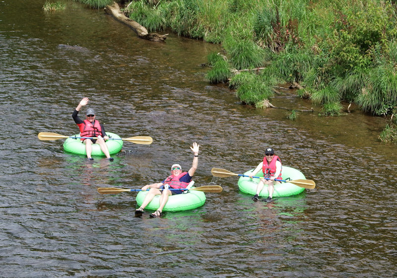 Guided River Challenge Tube Trip